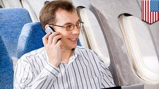 The FCC to lift ban on in-flight cell phone calls