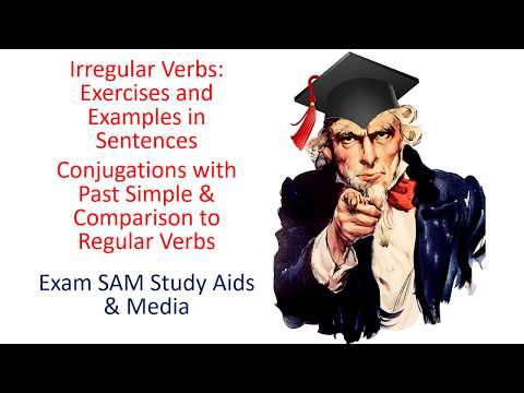 Irregular Verbs - Exercises & Examples Of Past Simple In Sentences