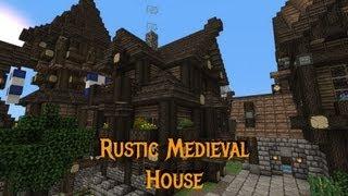 minecraft rustic medieval tutorials
