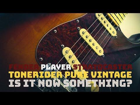 Fender Player Stratocaster tonerider pure vintage pickups upgrade