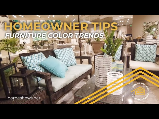CITY Furniture Color Trends