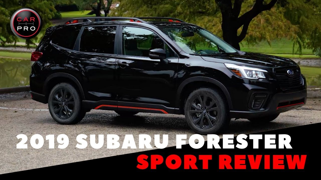 2019 Subaru Forester Sport Review Youtube