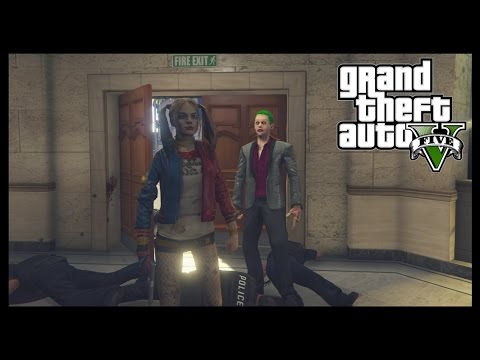 GTA V | Harley Quinn & The Joker | Gameplay #10