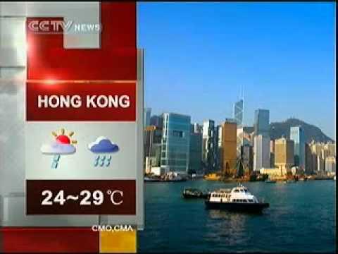 CCTV-NEWS World Cities Weather Forecast (2010-05-06 1627)