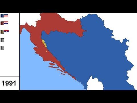 Breakup of Yugoslavia-(1991-1995)-Alternate History