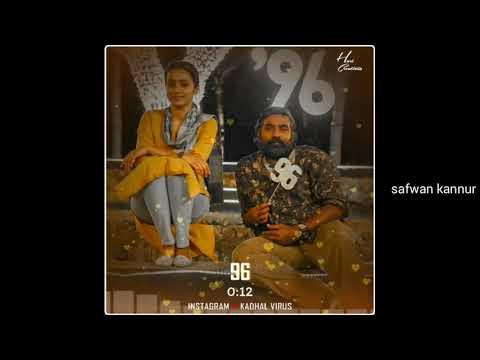 💖 96 New Whatsapp Status Video 💖 | 😍96 Tamil Movie | 96 Song | 96