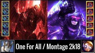 5 Galio VS 5 Blitz Tanks Attack !!One For All  league of legneds