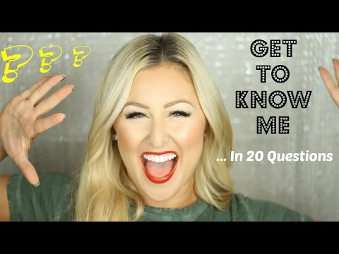 Get To Know Me In 20 Questions