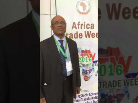 Mr. Dominique Njinkeu, President and CEO, African Trade & Sustainable Development