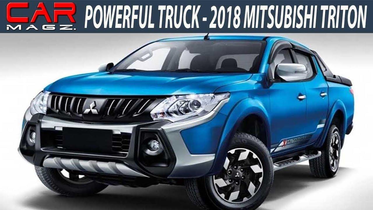 2018 mitsubishi triton redesign and release date - youtube