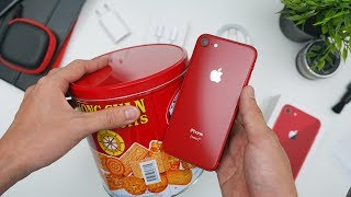 Rp12.6 JUTA!! UNBOXING IPHONE 8 PRODUCT RED VERSI INDONESIA!