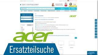 Acer Ersatzteilsuche