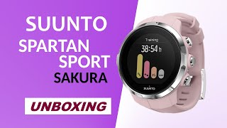 Suunto Spartan Sport Sakura Unboxing HD (SS022674000)