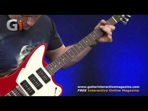 Fret King Black Label Series Esprit III Review with Rick Graham   Guitar Interactive