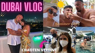DUBAI VLOG #1 (Friends, Food & Chaos) | Sara & Dolunay