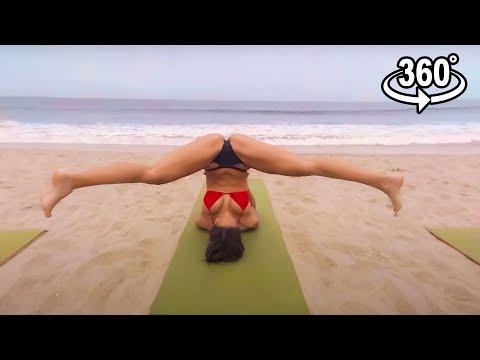 VR Bikini Yoga - Venice - Lesson 5: Groundwork