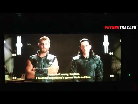 THOR RAGNAROK Post Credits scenes ' Mjolnir Back and Thanos space ship '