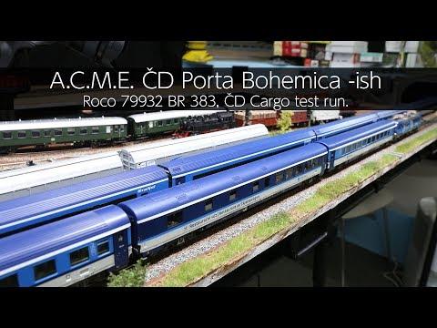 A.C.M.E. ČD Porta Bohemica -ish  - VLOG45