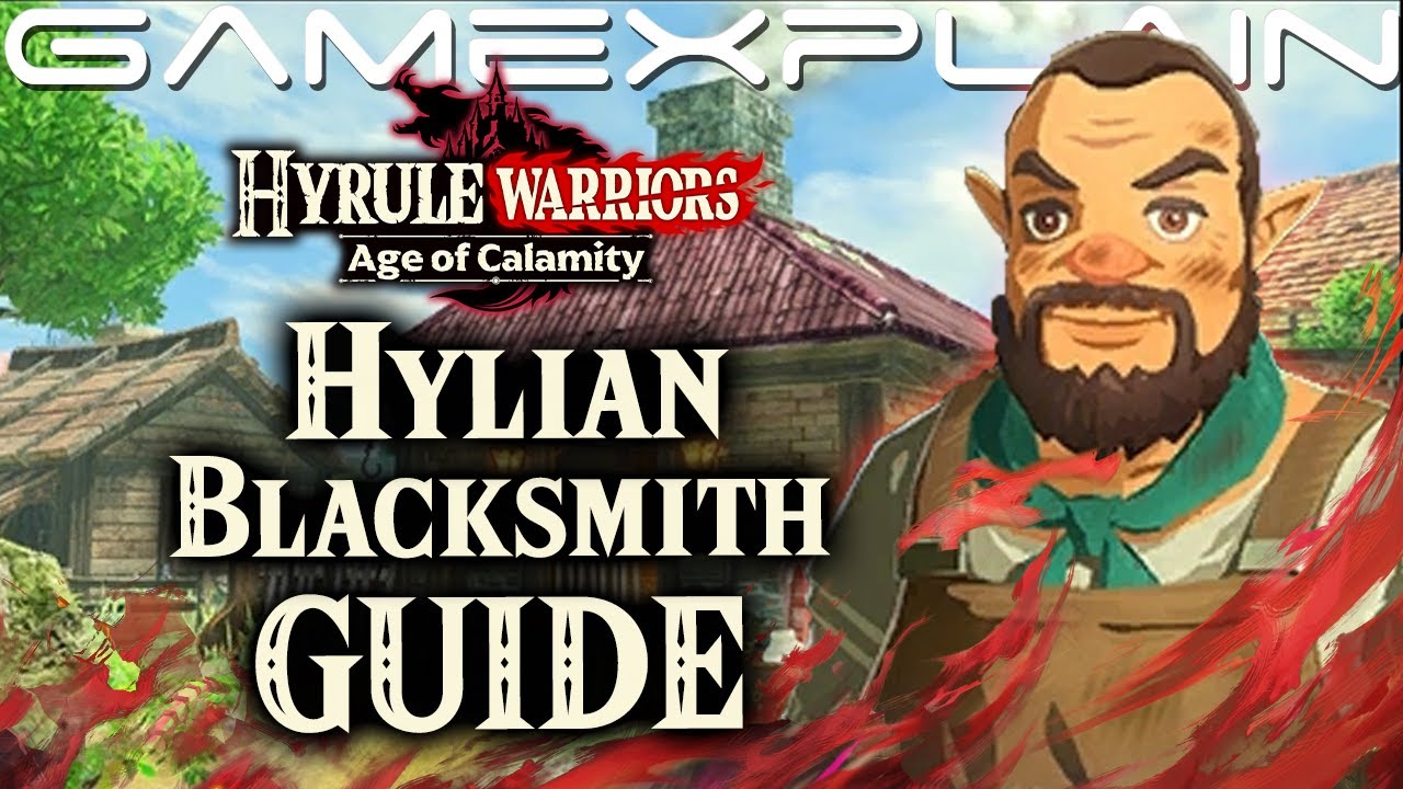 How To Fuse Weapons In Hyrule Warriors Age Of Calamity Hylian Blacksmith Guide Youtube
