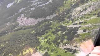 Tatry- kolej linowa na Kasprowy Wierch 1987m  pod szczytem-1080p