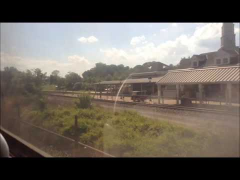 Washington DC Metro | Yellow Line FULL JOURNEY: Fort Totten