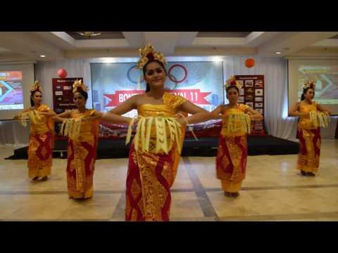 Pendet Dance - Bali Rara , Millenia - Festival Bonenkai 11 - Hotel Salak Bogor ,14-15 January 2017