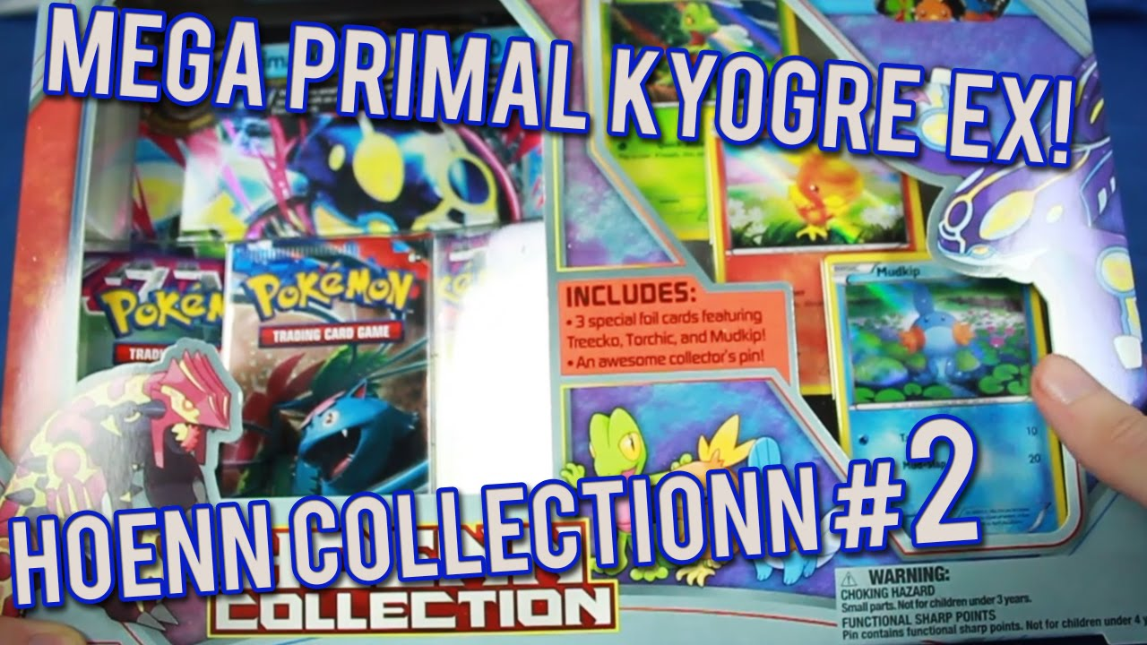 Primal Kyogre Card pokemon cards - primal kyogre ex hoenn collection box opening