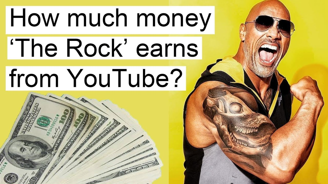 Info Incomes How Much Money Dwayne Johnson The Rock Earns
