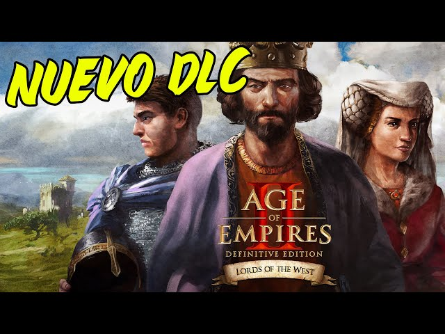 NUEVA EXPANSIÓN para AGE OF EMPIRES 2 DEFINITIVE EDITION - Lords of the West