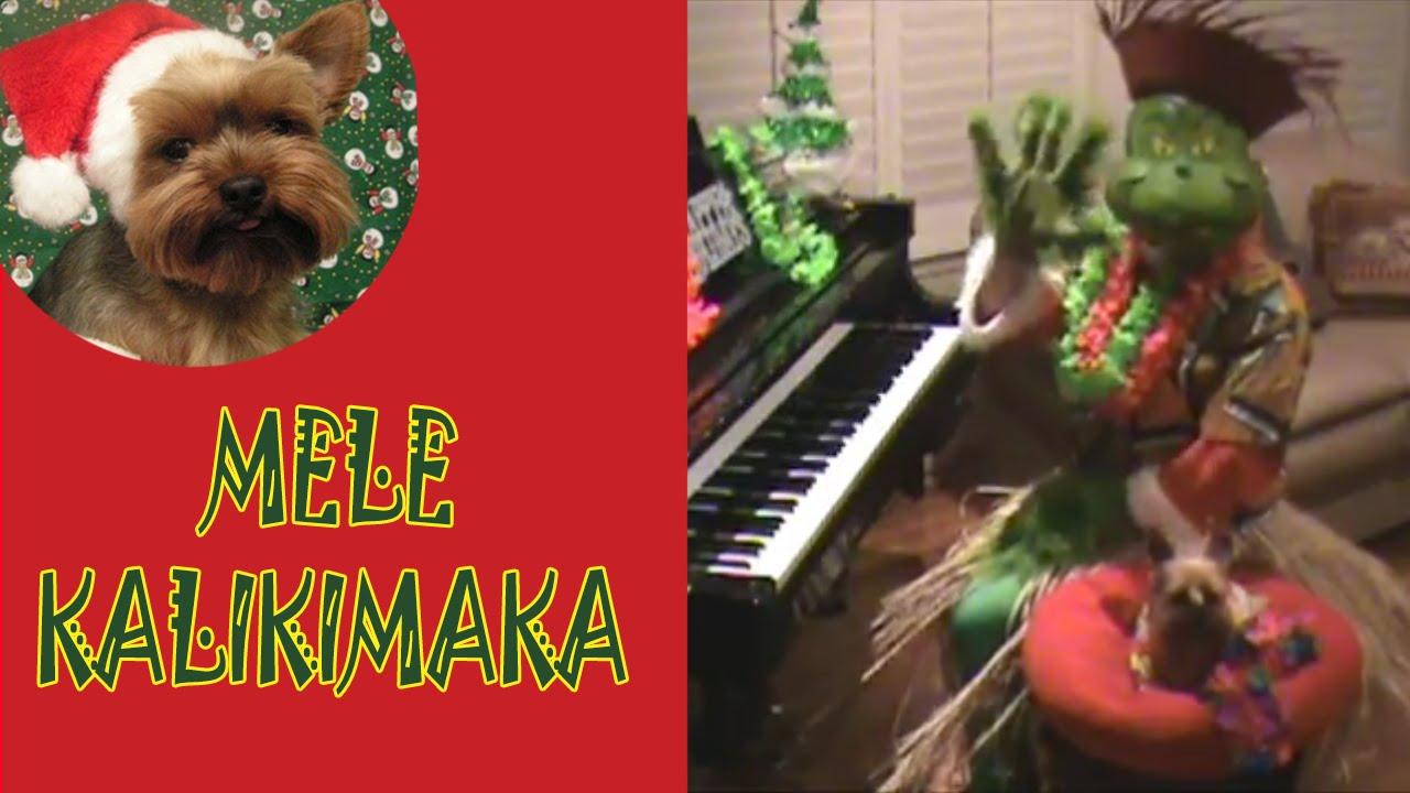 The Grinch Plays Mele Kalikimaka (Hawaiian Merry Christmas) on Piano ...