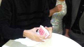 Download Video Dynamo Magician Impossible performs coin and card tricks MP3 3GP MP4