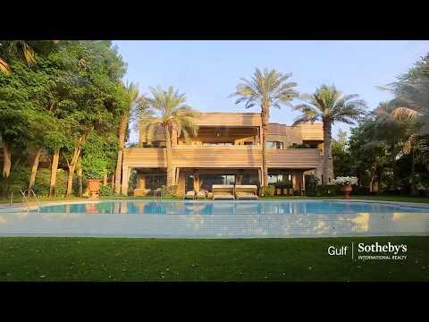 Astonishing Moroccan French Villa, Emirates Hills, Dubai, United Arab Emirates