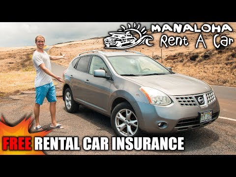How to get FREE Car Rental Insurance // Manahola Rent-a-Car Experience