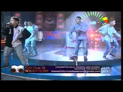 Los Wachiturros -  Tirate un paso HD (Pasion de Sabado 11-06-11)