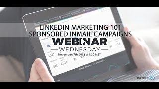LinkedIn-Marketing 101 - Wie Man Erstellen Sponsored InMail-Kampagnen