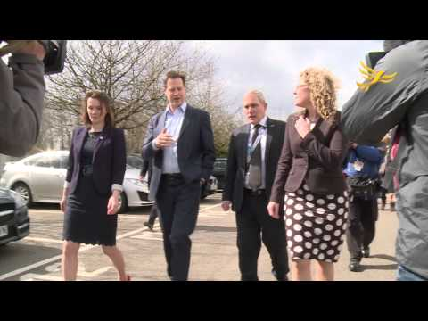 Welsh Liberal Democrat 2015 General Election campaign launch