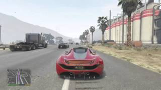 GTA 5 Progen T20 police  chase