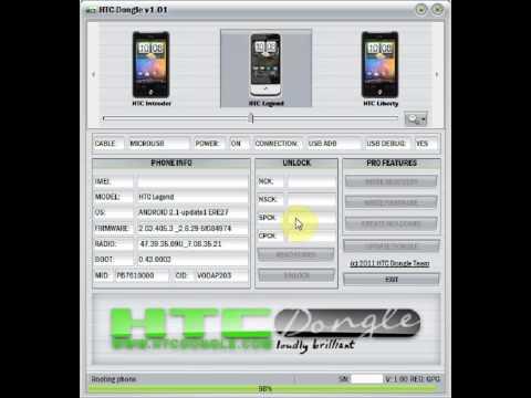 HTCDongle.com - HTC Legend Unlock