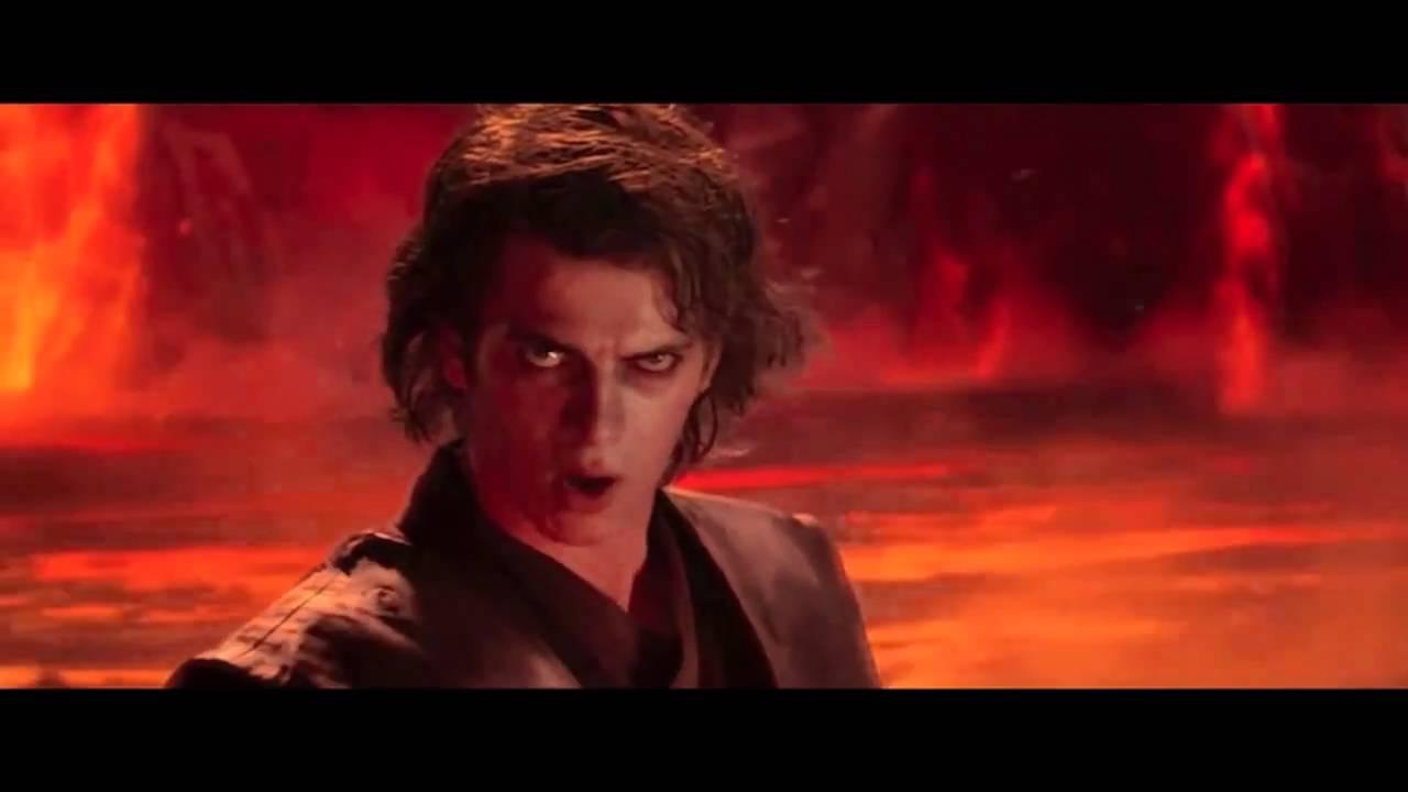 Star Wars Fandub Anakin Vs Obi Wan Battaglia E Dialogo