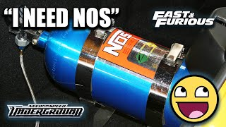 homepage tile video photo for The Rise of NOS: A Brand That Changed Car Culture