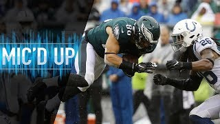"Zach Ertz Mic'd Up vs. Colts ""I Like That Hit, You a Really Good Player!"" 