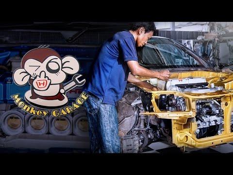 Monkey Garage สาวก Honda อยากหล่ออยากแรงต้องมาที่นี่  By BoxzaRacing.com
