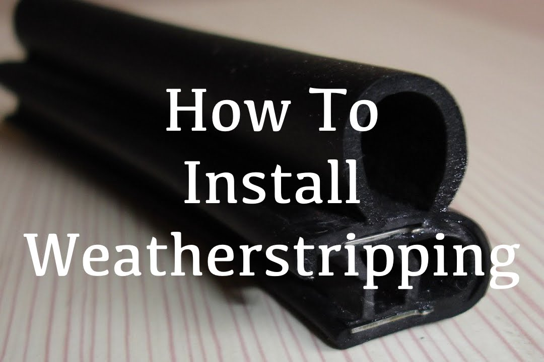how to install car door weather stripping seal 1966 ford ranchero youtube. Black Bedroom Furniture Sets. Home Design Ideas