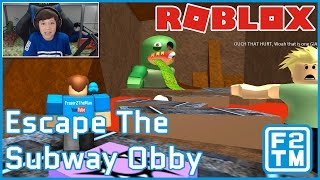 Roblox Escape the Subway Obby by FatPaps (Oh no! More Zombies!!!)