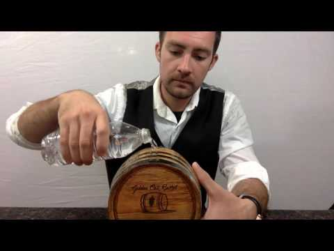 American Golden Oak Wood Barrel for aging Whiskey, Wine, Rum, Bourbon, Tequila and Beer