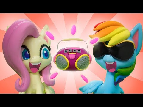 My Little Pony Stop Motion | 'Dance Dance' 👯♀️ Stop Motion Short Ep. 17