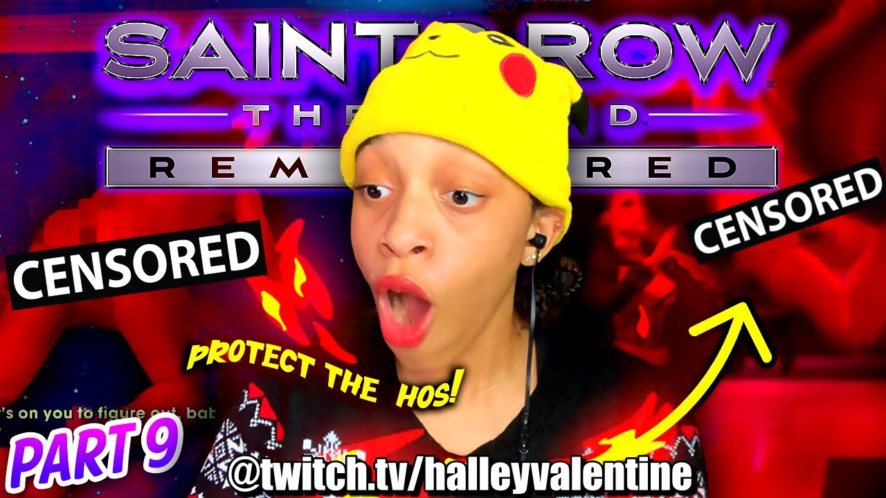 Saving The HOS While Naked? | SAINTS ROW: THE THIRD REMASTERED (Co-op) - PART 9 [TWITCH LIVESTREAM]