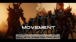 Realistic Animation Project - Movement - Skyrim Mods [4K]
