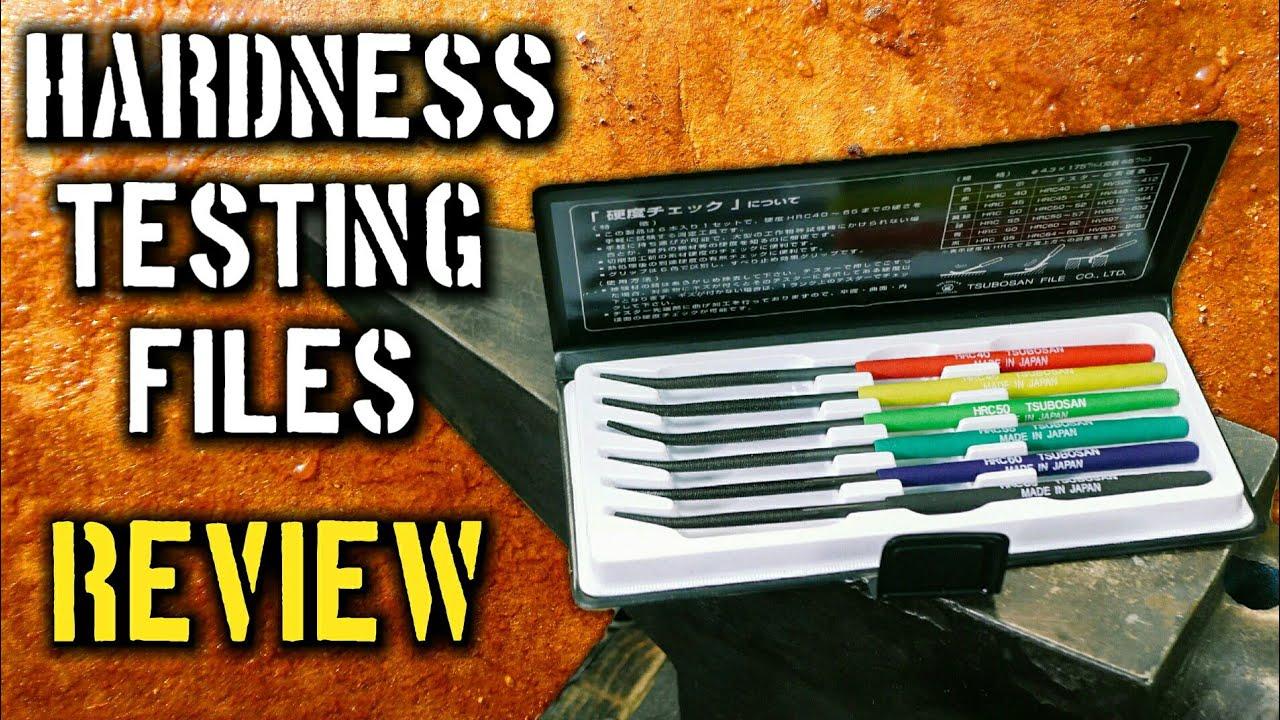 TTC 6 Piece Hardness Tester File Set