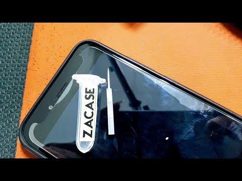 Hướng dẫn sử dụng keo khử hở trắng mép kính cường lực Zacase Magic